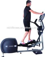 Elliptical with LCD screen and heart rate minitor