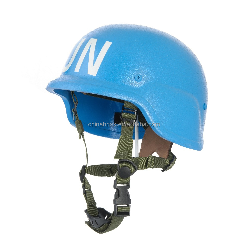 UN peace-keeping force ballistic helmet
