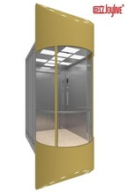 residential/commercial/supermarket glass/panoramic elevator