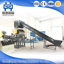 PP PE waste plastic film washing machine / agriculture film recycling line
