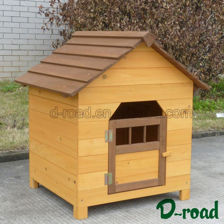 3D Custom Waterproof Heavy-Duty Dog Wooden Run Kennel