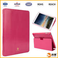 Hot selling for ipad air case PU+PC material tablet cover for ipad air leather case