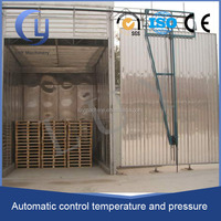 payment protection steam wood/electricity heating drying chamber for wood