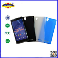 Soft pudding case, cell phone cover for Sony Xperia T2 Laudtec