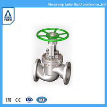 "Best selling ansi standard 20"" brass handles refrigeration globe valve bellow seal type"