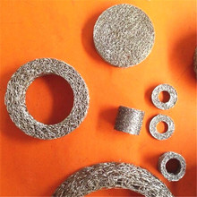 Stainless Steel Air Bag Knitted Mesh Filter Disc