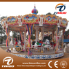Kids Amusement Rides Outdoor Christmas Carousel Horse For Sale