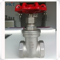 Factory Supply High Performance Casting Stainless Steel Gate Valve PN16 Manufacturer