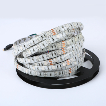 Hot sell High quality IP44 waterproof 60led 12v 5050 RGB led strip light