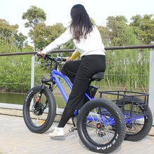 fat tire electric tricycle mobility 3 wheel electric scooter for adult