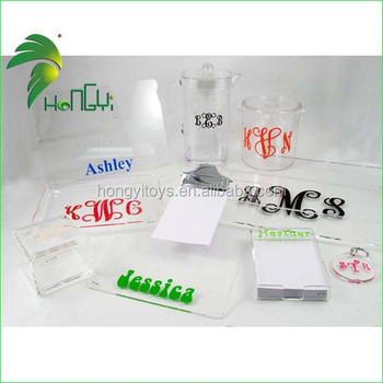 wholesales acrylic gift items/acrylic products for sales