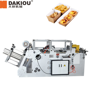 box making machinery price tray erecting machine the food paper box