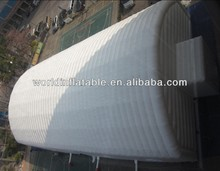 2014 new inflatable giant tube tent