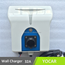 iec 62196-2 type 2 ev plug 32A best wall mount ev charger