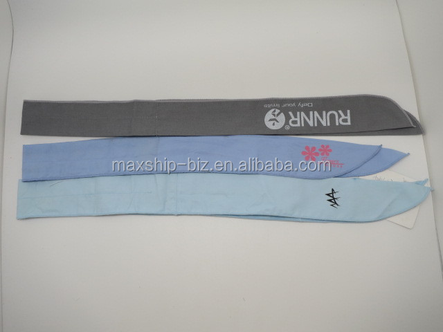 OEM Cool summer Ice Cooling Neck Headband
