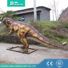 Remote Control High Simulation Fiberglass Dinosaur For Amusement Park
