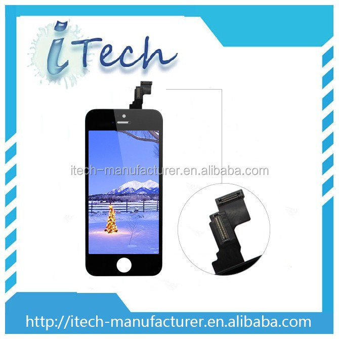 Mobile phones lcd touch screen for iphone 5 5c replacement