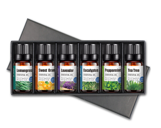 OEM Amazon hot selling massage body essential oil set bottle essential oil