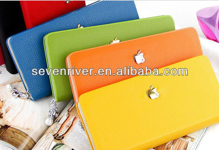 Famous brand newest style PU women wallet with multifunctions