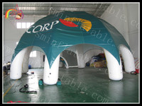 Custom 32' Inflatable Dome Canopy Tent, 6 leg(any color), Optional PRINTING for Advising & Events