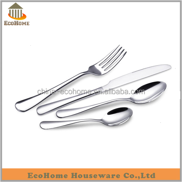 EC037AM High quality <strong>stainless</strong> steel spoon and fork set