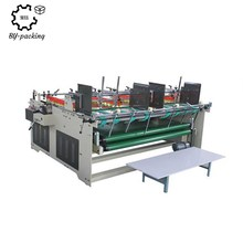 Semi-automatic small carton folder gluer machine