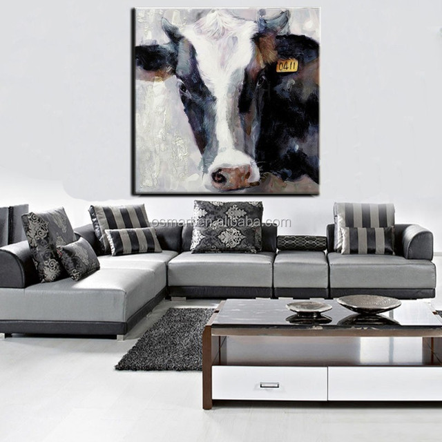 Modern stretched animals canvas painting wall decoration modern art paintings picture for living room home decoration
