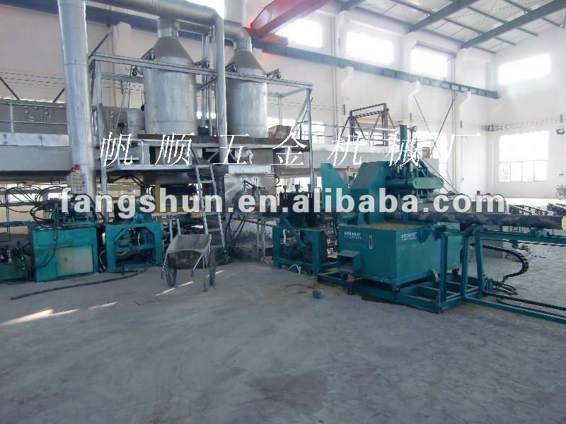 honey brass recycling continuous casting machine