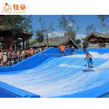 Attractive Indoor Outdoor Water Play Equipment Promotional FlowRider Surf Wave Pool