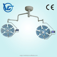 VG-LED0707-3 LED surgical light ceiling-mounted with video camera with control panel