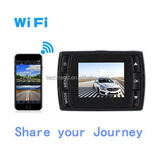 "1.5"" IPS Dash Cam 1080P 170 Degree Wide Angle Dashboard Camera Recorder Built-in WiFi, G-Sensor & WDR Superior Night"