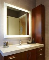 Customed Size Led Backlit Mirror Bathroom Led Electric Mirror
