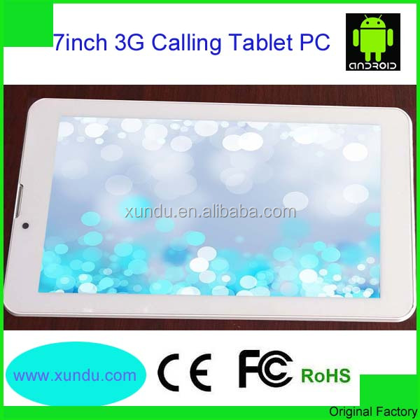 7 inch 512MB Dual sim card Tablet PC with android metal case dual cameras