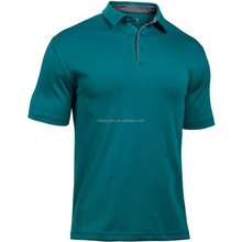 Fitness Sports Quick Dry Men's Blank Polo T Shirt