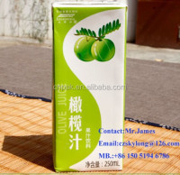 250ml aseptic carton for UHT beverage
