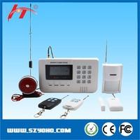 home security GSM alarm system/wireless GSM +PSTN alarm