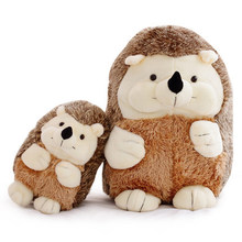 Wholesale Custom Plush Stuffed mascot doll Toys Lovely Soft Hedgehog Personality cute animal Toy Gift for kids