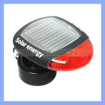 Max 8 Hours Flashing Novelty Solar Bicycle Light