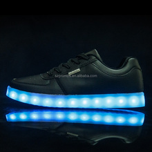 high top platform led shoes for adults light up camouflage usb zapatos mujer zapatillas deportivas mujer