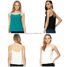 Ladies Strappy Cami Tops with Slender shoulder straps