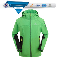 Custom Made Factory new style Softshell Jacket for Men with Hood