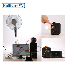 Kaliton Portable Mini Solar UPS system Uninterruptible Power Supply Solar Home Light System for Home Use
