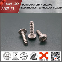 cross recessed Botton head security screw self tapping screw