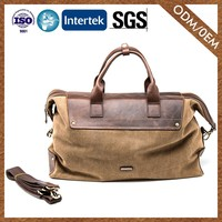 Experienced Factory New Coming 100% Leather Laptop Bag Personalized Design Male Leather Duffle Bag