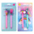 Licheng BP3639 Pens with Character, Innovative Cat Mermaid Alpaca Cactus Ice Cream Shaped Pens
