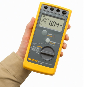 Handheld Fluke 1621 Digital Earth/Ground Resistance Tester Hotsale