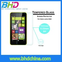 Hot sell tempered glass screen protector for nokia lumia 1020 for nokia lumia 1520 cell phone screen protector