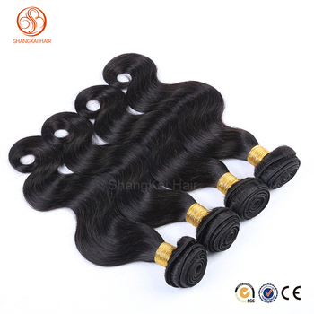 wholesale top quality Brazilian silky body wave hair bundles