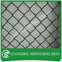 China supplier wholesale vinyl coated chain link fence cost
