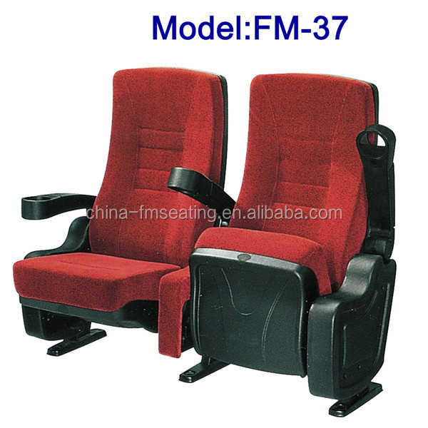 3d 4d 5d cinema theater seating with cup holder